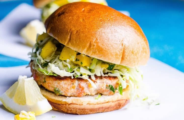 Best Frozen Salmon Burgers