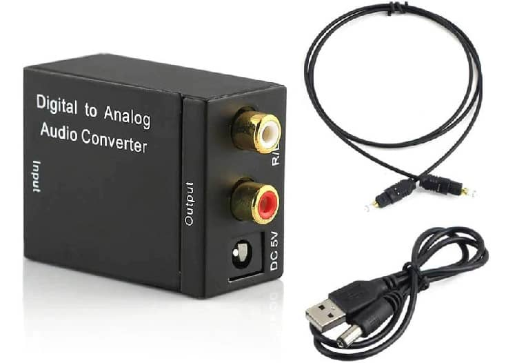 Best Optical to rca Converter